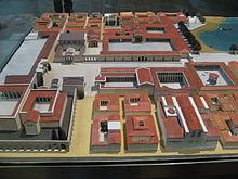 L'Impianto planimetrico ippodameo della polis di Mileto, al Museo di Pergamo di Berlino.