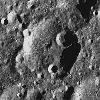 Perkin (crater) - LRO image