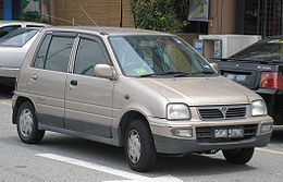 Perodua Kancil (first generation, second facelift) (front), Serdang.jpg
