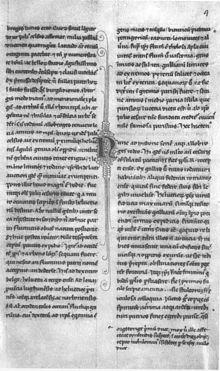 Petrarca, De viris illustribus, Autograph, wohl kurz vor 1374 geschrieben. Paris, Bibliothèque Nationale, Lat. 5784, fol. 4r (Quelle: Wikimedia)