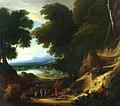 Philippe van Dapels - Forest landscape with figures.jpg