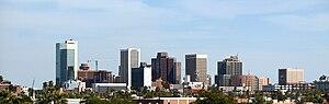 Phoenix metropolitan area - Image: Phoenix skyline