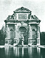 Photo of the Fontaine Médicis by Baldus - Hustin 1911 p151.jpg