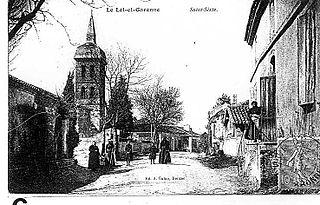 Saint-Sixte, Lot-et-Garonne Commune in Nouvelle-Aquitaine, France