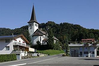 Illgau - Image: Picswiss SZ 25 01