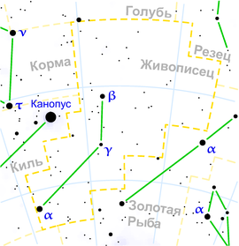 Pictor constellation map ru lite.png