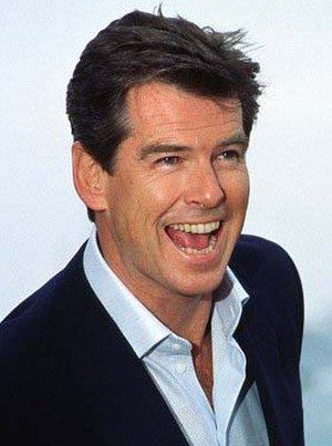 Pierce Brosnan - Brosnan at the 2002 Cannes Film Festival for the press conference of Die Another Day