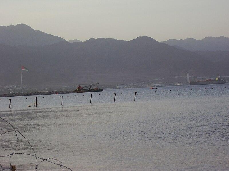 סימון הגבול הימי אילת-עקבה