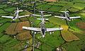 Pilatus PC-9 of the Irish Air Corp flying in formation 2.jpg