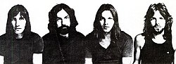 Pink Floyd v roku 1971. Zľava: Roger Waters, Nick Mason, David Gilmour a Richard Wright