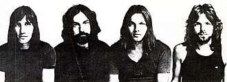Meddle - Roger Waters, Nick Mason, David Gilmour and Richard Wright, 1971, Meddle inside cover