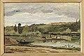 Pissarro - BAC A LA VARENNE SAINT HILAIRE, 1864.jpg