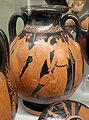 Pittore della nascita di atena, pelike con poseidone, anymone, afrodite ed eros, 460-450 ac. ca., dalla tomba dei vasi greci alla banditaccia 01.jpg