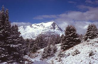 Sesvenna Alps - Image: Piz Lad From E