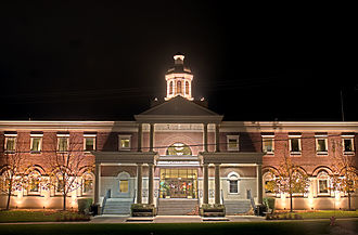 Plainfield, Illinois - Village Hall in Plainfield, Illinois