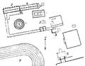Plan af helgedomen i Epidauros, Nordisk familjebok.png