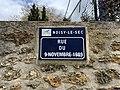 Plaque Rue 9 Novembre 1989 - Noisy-le-Sec (FR93) - 2021-04-16 - 2.jpg