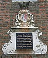 Plaque on Quainton Almshouses - geograph.org.uk - 566251.jpg