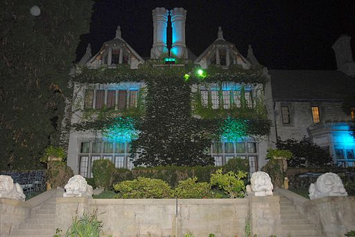 Playboy Mansion North Side 2007