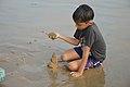 Playful Boy - New Digha Beach - East Midnapore 2015-05-01 8842.JPG