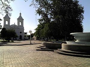 Villa Dolores - Image: Plaza Villa Dolores