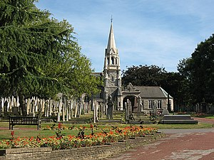 Plumstead - Image: Plumstead cemetery with chapel geograph.org.uk 1454940