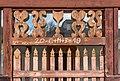 Poggersdorf Wabelsdorf Filialkirche hl. Georg Vorhallen-Portal Supraporte 03012019 5795.jpg