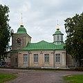 Pokrova church in Lappeenranta being renovated in 2017.jpg