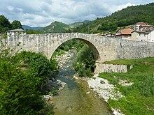 Ponte cinquecentesco a Ponte d'Arli