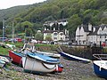 Porlock Weir at low tide - geograph.org.uk - 803161.jpg