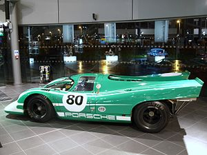 David Piper's Porsche 917 which he has owned s...