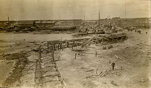 Port Nelson, Manitoba - Port Nelson in 1915