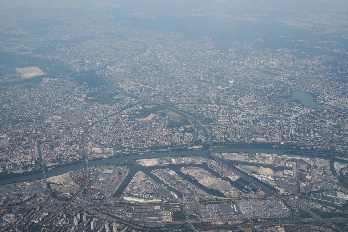Paris Materiaux Villeneuve La Garenne port de gennevilliers — wikipédia