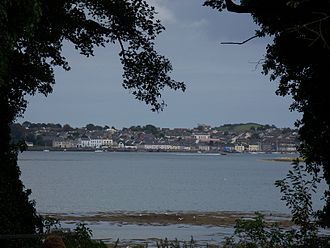 Portaferry - Portaferry from the grounds of Castle Ward, on the opposite bank of Strangford Lough