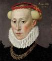Porträt einer jungen Frau mit Mühlsteinkragen und Schmuck, 1581.png