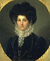 Portrait of Countess Ravez