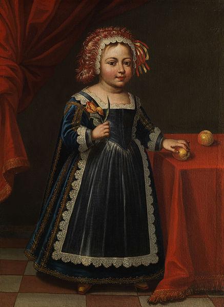 File:Portrait eines Kinds mit Tulpe und Apfel.jpg