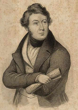 John Frost (Chartist) - Image: Portrait of J. Frost (4673712) (cropped)