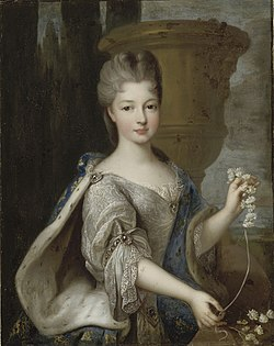 Portrait of Louise Élisabeth de Bourbon (1693-1775), Princess of Conti by Pierre Gobert.jpg