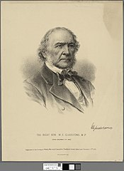 Right Hon. W. E. Gladstone, M.P. (born December 29th 1809)