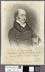 right honorable George Canning M.P. &c &c