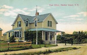 Shelter Island, New York - Image: Post Office, Shelter Island, NY