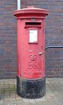 Post box at West Kirby post office (cropped).jpg
