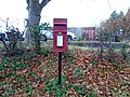 Post box on Grammar School Lane, West Kirby.jpg