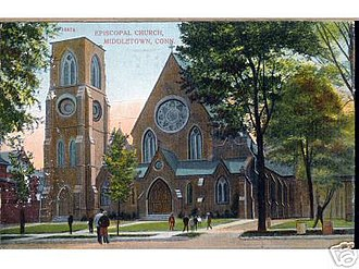 Henry C. Dudley - Image: Postcard Episcopal Church Middletown Conn 1908