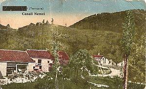 Nemci, Nova Gorica - 1935 postcard of Nemci