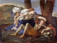 Poussin, Nicolas - Rinaldo and Armida - Google Art Project.jpg