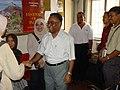 Pradip Kumar Bhaumik Greets Pusat Sains Negara Delegates - NCSM - Kolkata 2003-09-22 C00303.JPG