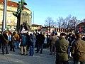 Praha, Palackého náměstí, Demonstrace proti nezávislosti Kosova III.JPG