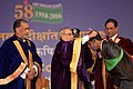 Pranab Mukherjee presented the medals to the students at the 54th Convocation of Indian Agricultural Research Institute (IARI), in New Delhi. The Union Minister for Agriculture and Farmers Welfare.jpg